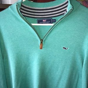 Men's Vineyard vines zip up sweater